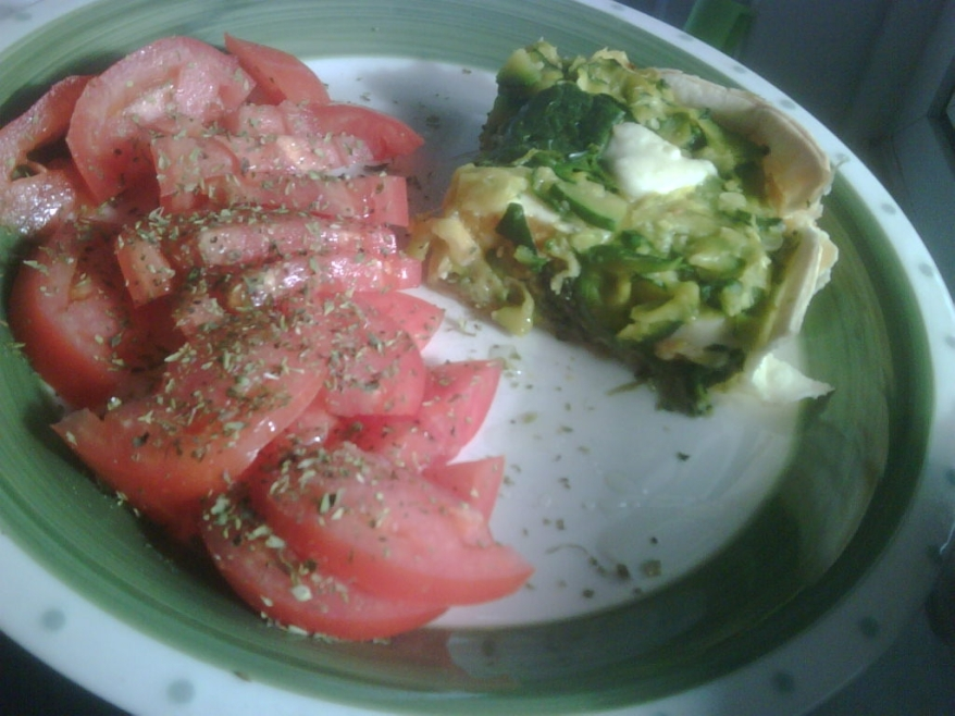 Tarta de verdura