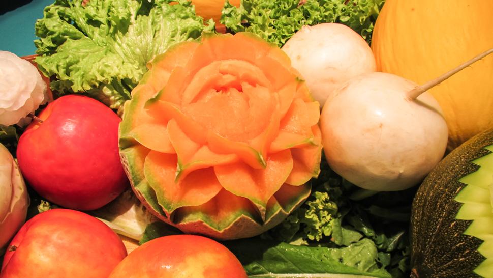 Verduras para el día después.