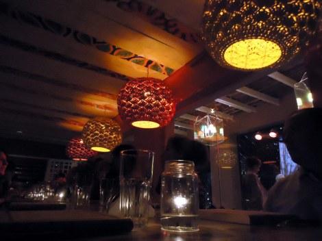Paseando en bar