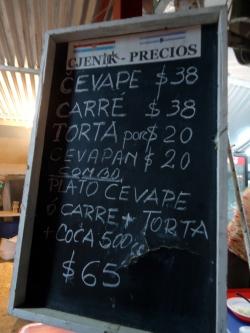 Precios en Croacia.
