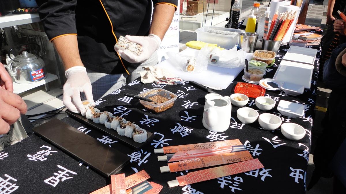 Sushi cordobés
